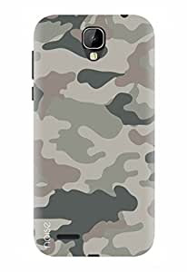 Noise Designer Printed Case / Cover for Intex Cloud Crystal 2.5D / Patterns & Ethnic / Camouflage Design