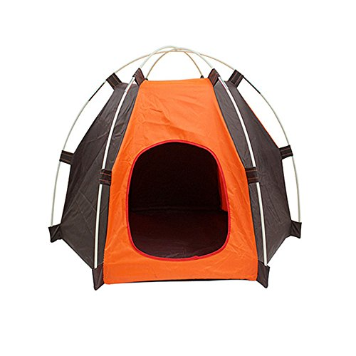 Pup-Tent, PYURS Pet Camp Tent Foldable Dog Bed House for Puppy Dog Kitten Cat (Eurekas Castle Dvd compare prices)