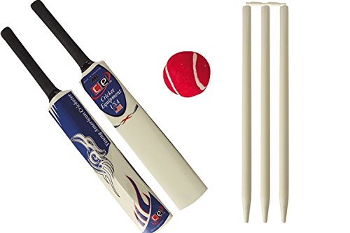 Young American Cricket Gift Set For Kids By Cricket Equipment Usa Size 6