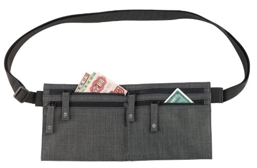 T-Tech by Tumi Luggage Waist Stash, Charcoal, One Size