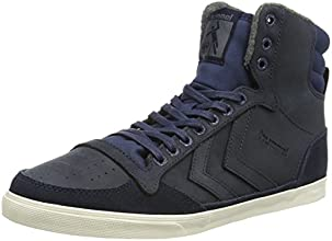 Hummel Slimmer Stadil Oiled Hi, Unisex Adults' Hi-Top Sneakers