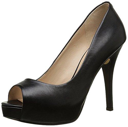 Guess Decollete Donna Scarpe Helena Spuntata Open Toe Tacco Cm 11 Pl Cm 2,5 Leather,38