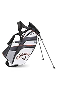 Callaway Fusion Stand Bag, White/Charcoal/Orange