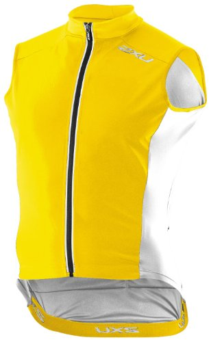 Buy Low Price 2XU Men's Performance Membrane Cycle Vest (MC1898a)