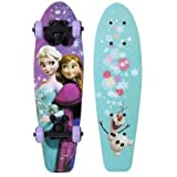 Disney Frozen Sisters & Olaf Girls 21 Wood Cruiser Skateboard