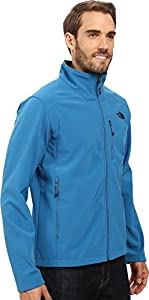 The North Face Men's Apex Bionic 2 Jacket Banff Blue/Banff Blue Outerwear SM