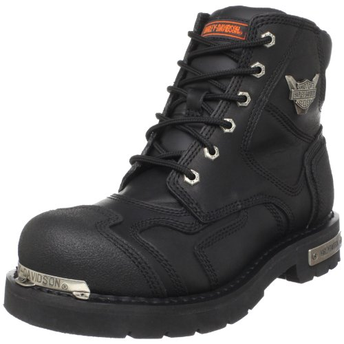 Harley Davidson Mens Stealth Riding Boot,Black,17 M
