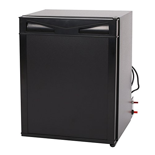 SMAD Electric Propane Fridge Compact RV Refrigerator, DC12V/AC110V/Lpg,1.4Cu ft (Lp Electric Refrigerator compare prices)
