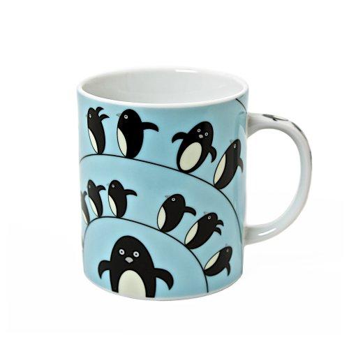 Miya Penguin Mug, Blue