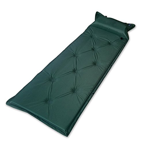 Semoo Self-Inflating Camping Pad  with Attached Inflatable Pillow