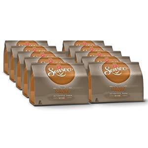 Order Senseo Strong / Dark Roast, Design, Pack of 10, 10 x 16 Coffee Pods - Douwe Egberts