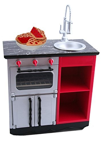 American Girl Grace French Bakery Kitchen Oven Sink for 18 Doll with Cherry Pie NEW by American Girl (Doll French Bakery compare prices)