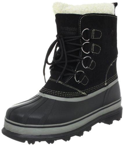 Northside Men's Back Country Winter Boot,Black,8 M US