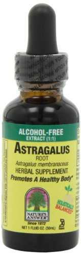 Nature's Answer Alcohol-Free Astragalus Root, 1-Fluid Ounce (Astragalus Extract compare prices)