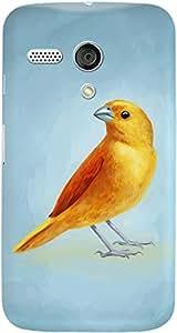 DailyObjects Wild Canary Case For Motorola Moto G