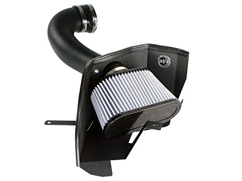 aFe Power Magnum FORCE 51-10293 Performance Intake System for Ford Mustang GT (Dry, 3-Layer Filter)
