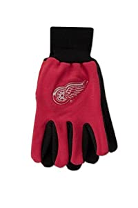 Buy McArthur Detroit Red Wings Sport Utility Gloves by WinCraft