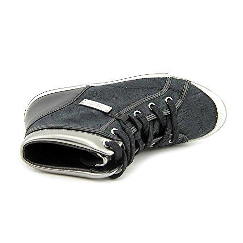 Coach Freeshia Sneaker in Black (BLACK/PEWTER 7.5 M)