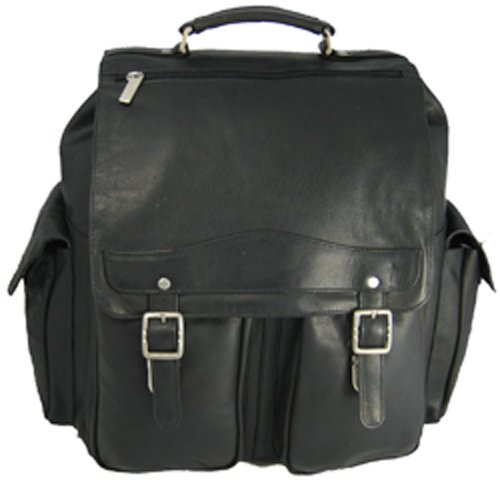 B00277X7PO David King & Co. Jumbo Back Pack, Black, One Size