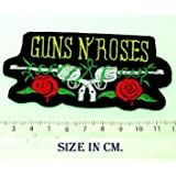 Guns N' Roses Vintage Cowboy Iron on Patch Embroidered DIY T-shirt Jacket