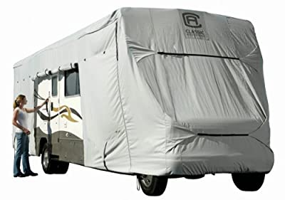 Classic Accessories 80-021-201001-00 PolyX 300 Grey Class C RV Cover