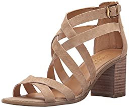 Franco Sarto Women\'s L-hachi Gladiator Sandal, Sand, 10 M US