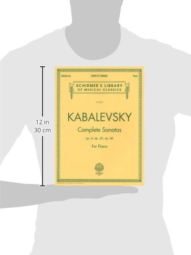Dmitri Kabalevsky - Complete Sonatas for Piano (Schirmer's Library of Musical Classics)