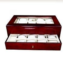 Steinhausen Luxury Accessory Case Large Cherry-Wood