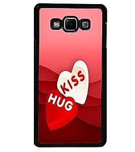 PRINTVISA Abstract Love Case Cover for Samsung Galaxy A7::Samsung Galaxy A7 A700F