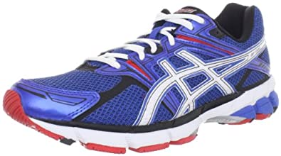 ASICS Men's Gt-1000 Running Shoe,Royal/White/Red,8 M US