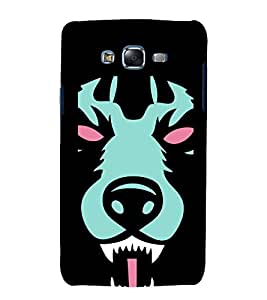 printtech Animal Scary Pattern Back Case Cover for Samsung Galaxy Grand Max G720