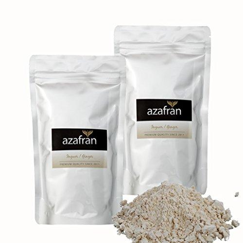 BIO-Ingwer | Ingwerpulver gemahlen 500g von Azafran®