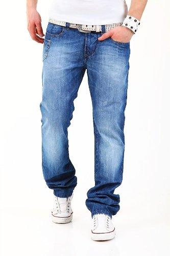 Energie - G81 - Jeans T-Boy - Blu - W34/L34