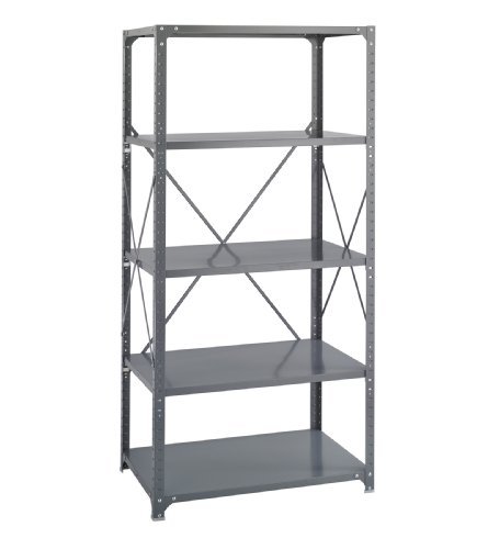 36 X 24 Commercial 5 Shelf Kit By Safco front-1048197