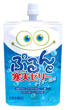 オリヒロ ぷるんと寒天ゼリーサイダ 130g