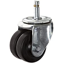 E.R. Wagner Stem Caster, Swivel, Phenolic Wheel