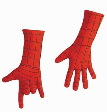 スパイダーマン 大人用 デラックス グローブ 米公式ライセンス コスチューム なりきり コスプレ 手袋 仮装 衣装 イースター、ハロウィン パーティに☆【並行輸入品】