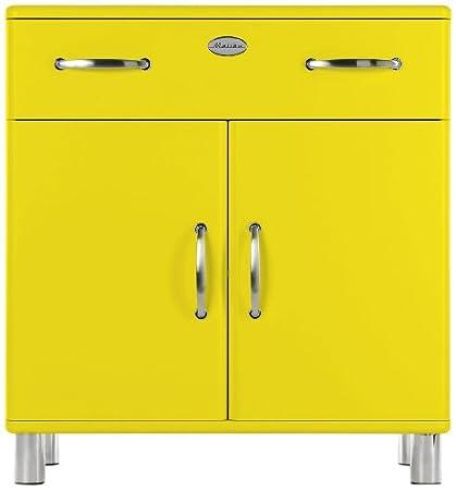 Tenzo 5127-002 Malibu - Designer Kommode 92 x 86 x 41 cm, MDF lackiert, gelb