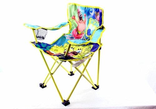 Spongebob Square Pants-Nickelodeon - Spongebob Squarepants Kid's Folding Camp Chair