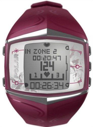 Image of Polar FT60 Women's Heart Rate Monitor Watch (Purple) & FREE MINI TOOL BOX (fs) (B0081SGS0O)