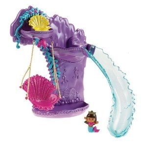 Dora the Explorer Swing & Splash Mermaid Adventure Bath Playset - 1