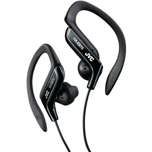Jvc Haeb75B Ear-Clip Headphones (Black) (Haeb75B)