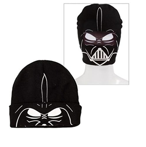 Star Wars ~ Darth Vader ~ Roll Down Mask Beanie