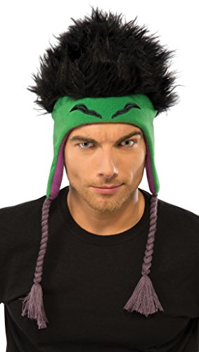 Rubie's Costume Co Men's Marvel Universe Adult Hulk Fleece Hat