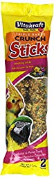 Vitakraft Moulting Treat Sticks for All Parrots and Cockatiels, 6.3 Ounce