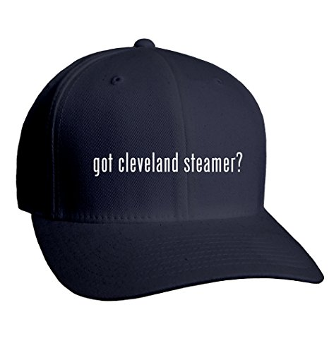 Got Cleveland Steamer? Adult Men'S Hat Baseball Cap, Dark Navy, Large/X-Large front-147918