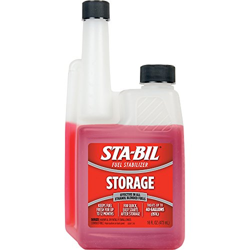 Sta-Bil 22207-12PK Fuel Stabilizer - 16 oz., (Case of 12)