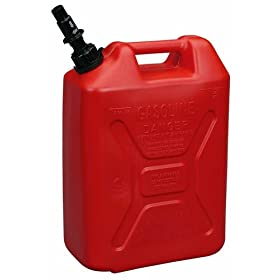 Moeller Scepter ECO Jerry Can with Child Resistant Closures (5-Gallon, Military Style)