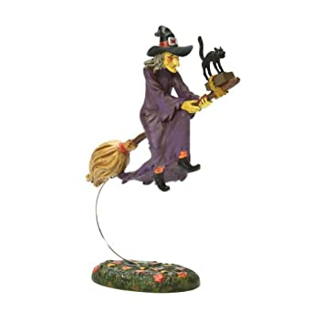 #!Cheap Department 56 Original Snow Village Halloween Midnight's Last Ride Accessory Figurine