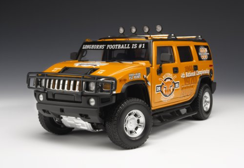 Highway 61 Texas Longhorns Football Hummer H2 Diecast Car/truck 1:18 (Die Cast Promotions Trucks compare prices)